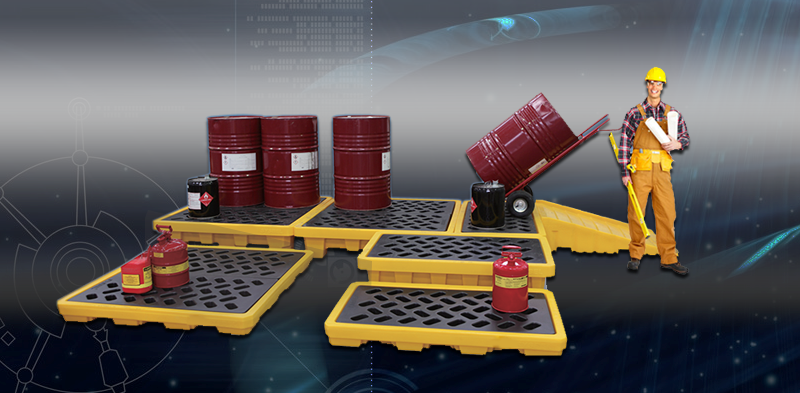 saudiarabia Standard PE Spill Containement Pallet & Platform