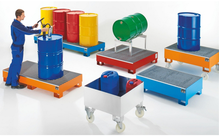 argentina Steel Spill Containment Pallet